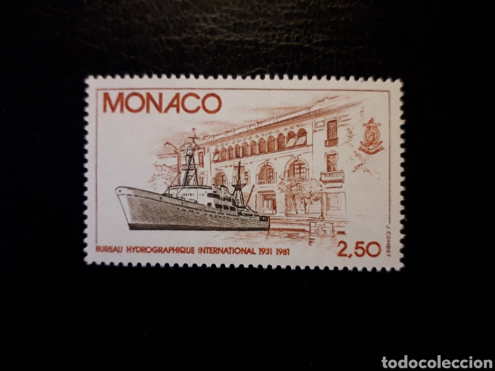 MÓNACO. YVERT 1279 SERIE COMPLETA NUEVA SIN CHARNELA. BARCOS. (Sellos - Extranjero - Europa - Mónaco)