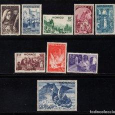 Sellos: MONACO 265/73** - AÑO 1944 - FOLKLORE - FIESTA DE SANTA DEVOTA. Lote 171692665