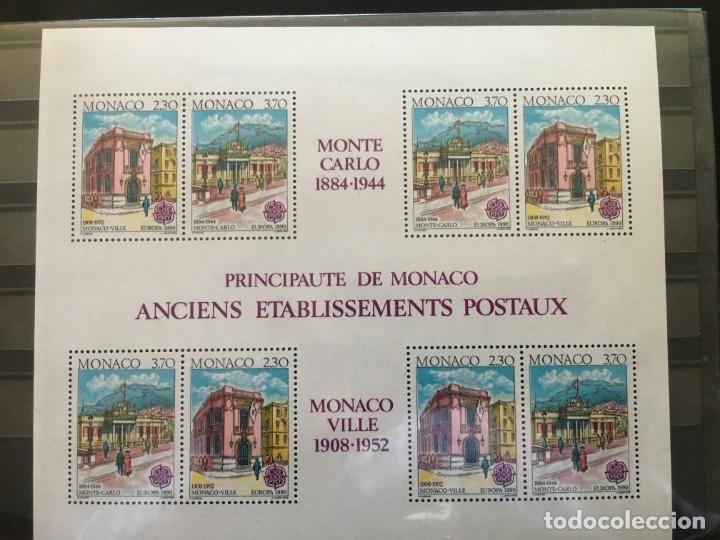PRINCIPADO DE MÓNACO AÑO 1990 (Sellos - Extranjero - Europa - Mónaco)