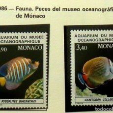 Sellos: SELLOS MONACO 1986 - FOTO 886, SERIE COMPLETA, NUEVA. Lote 177638392