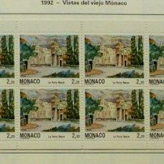 Sellos: SELLOS MONACO 1992 - FOTO 108 -CARNET Nº 7, NUEVO. Lote 177638877