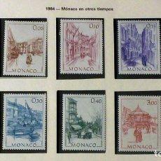 Sellos: SELLOS MONACO 1984 - FOTO 652 - COMPLETA, NUEVO. Lote 177777592