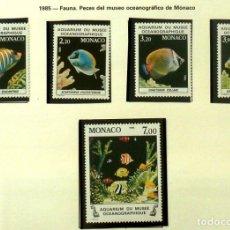 Sellos: SELLOS MONACO 1985 - FOTO 864 - COMPLETA, NUEVP. Lote 177783023