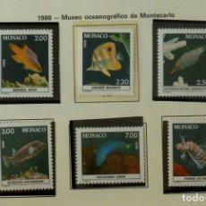 Sellos: SELLOS MONACO 1988 - FOTO 093 - COMPLETA, NUEVO. Lote 177784188