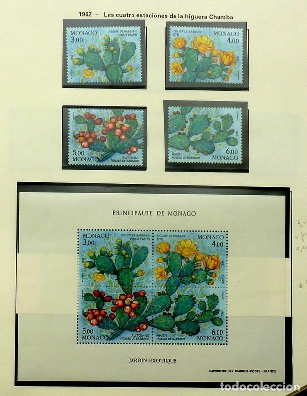 SELLOS MONACO 1992 - FOTO 107 - BLOQUE Y SELLOS, NUEVO (Sellos - Extranjero - Europa - Mónaco)