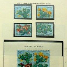 Sellos: SELLOS MONACO 1992 - FOTO 107 - BLOQUE Y SELLOS, NUEVO. Lote 177784718