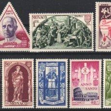 Sellos: MONACO, 1951 YVERT Nº 353 / 364 /*/ . Lote 179025668