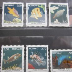Sellos: MONACO 1988 - 6 V. NUEVO. Lote 179344940