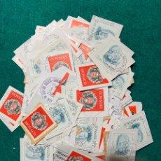 Sellos: 62 GRAMOS SELLOS USADOS EN PAPEL DE MÓNACO. Lote 182708765