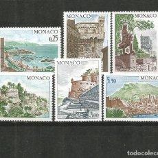 Sellos: MONACO YVERT NUM. 986/991 SERIE COMPLETA NUEVA SIN GOMA. Lote 186129426