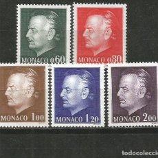 Sellos: MONACO YVERT NUM. 992/996 SERIE COMPLETA NUEVA SIN GOMA. Lote 186129621