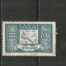 Sellos: MONACO CORREO AEREO YVERT NUM. 17 USADO. Lote 186165990
