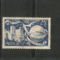 Sellos: MONACO CORREO AEREO YVERT NUM. 45 USADO. Lote 186166060