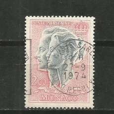 Sellos: MONACO CORREO AEREO YVERT NUM. 87 USADO. Lote 186166175