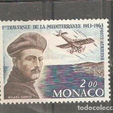 Sellos: MONACO,1963, YT MC PA 81,NUEVO,G.ORIGINAL,SIN FIJASELLOS.. Lote 187216891