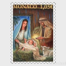 Sellos: MONACO 2019 - CHRISTMAS 2019 MNH. Lote 187621115