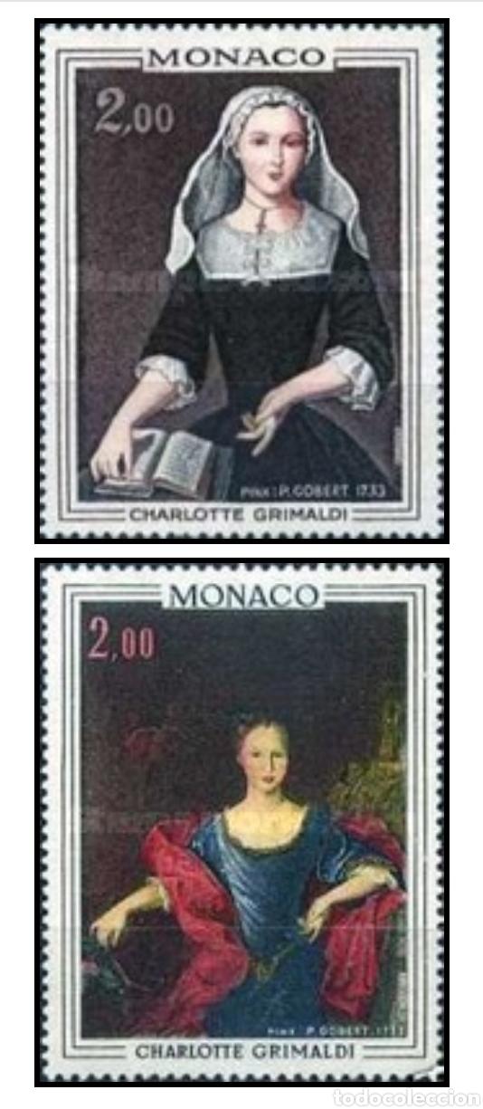 PAR DE SELLOS MÓNACO SIN USAR (Sellos - Extranjero - Europa - Mónaco)