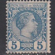 Sellos: MONACO, 1885 YVERT Nº 3 /*/ . Lote 196223481