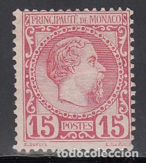 MONACO, 1885 YVERT Nº 5 /*/ (Sellos - Extranjero - Europa - Mónaco)