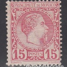 Sellos: MONACO, 1885 YVERT Nº 5 /*/ . Lote 196223770