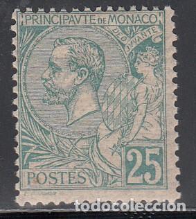 MONACO, 1891-94 YVERT Nº 16 /*/ (Sellos - Extranjero - Europa - Mónaco)
