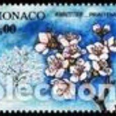 Sellos: SELLO NUEVO DE MONACO YT 1953. Lote 198514857