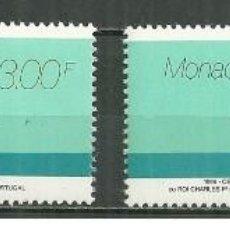 Sellos: SELLOS NUEVOS DE MONACO YT 2031/ 32. Lote 198515067