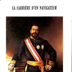 Sellos: FOLLETO ILUSTRADO DE 24 PAGINAS CON SELLO -LA CARRIERE D'UN NAVIGATEUR-ALBERT 1º PRINCE DE MONACO . Lote 198891567