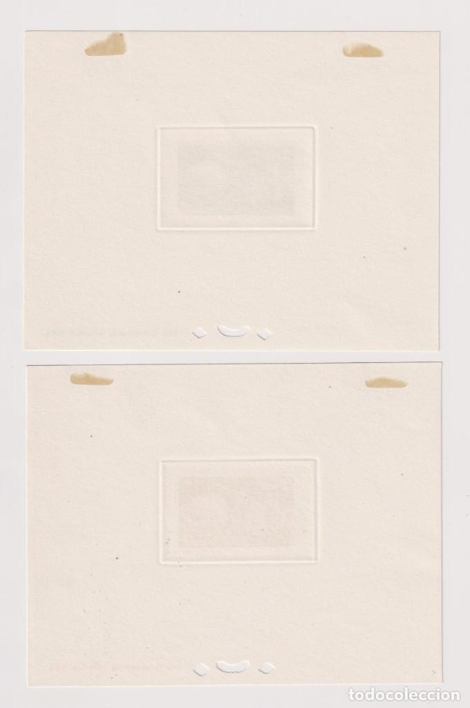 Sellos: Mónaco. Pruebas de lujo. 1949 UPU (Unión Postal Universal). 7 HB sin dentar * - Foto 2 - 205305988