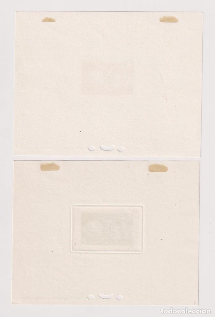 Sellos: Mónaco. Pruebas de lujo. 1949 UPU (Unión Postal Universal). 7 HB sin dentar * - Foto 6 - 205305988