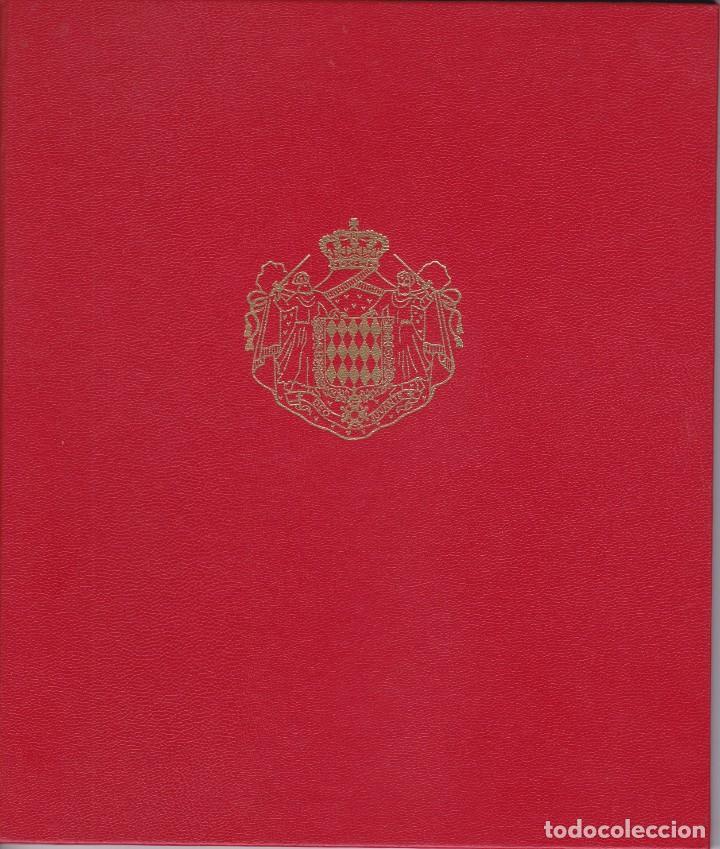 LIBRO DE MONACO CON SELLOS NUEVOS Y SIN CHARNELA- VALOR FACIAL 20,23€ (Sellos - Extranjero - Europa - Mónaco)