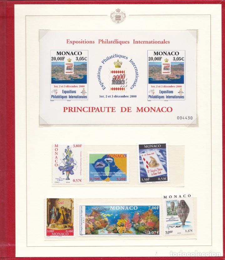 Sellos: LIBRO DE MONACO CON SELLOS NUEVOS Y SIN CHARNELA- VALOR FACIAL 20,23€ - Foto 3 - 205392148