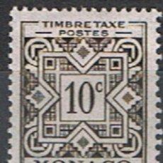 Sellos: MONACO // YVERT 29 TASA // 1946-51 ... NUEVO. Lote 207103608