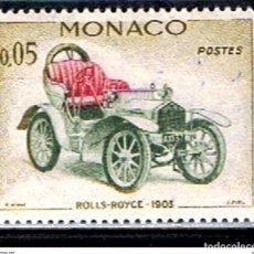 Sellos: MONACO // YVERT 561 // 1961 ... NUEVO. .. COCHE ANTIGUO . ROLLS ROYCE 1903. Lote 207199778