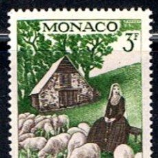 Sellos: MONACO // YVERT 494 // 1958 ... NUEVO.. Lote 207201453