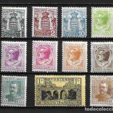 Francobolli: MÓNACO,1924, SERIE GENERAL,NUEVO CON CHARNELA, MH,YVERT VARIOS. Lote 210074812