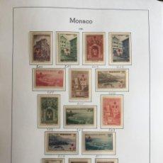 Sellos: MONACO, 1891-1970 COLECCIÓN DE SELLOS NUEVOS SIN FIJASELLOS, ( VALOR EN CATALOGO +3700€). Lote 210397963