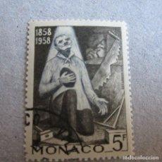 Timbres: MONACO 1958, YVERT Nº 492/502, CENTENARIO DE LAS APARICIONES DE LURDES. Lote 210481486