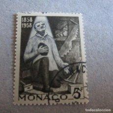 Sellos: MONACO 1958, YVERT Nº 492/502, CENTENARIO DE LAS APARICIONES DE LURDES. Lote 210481621
