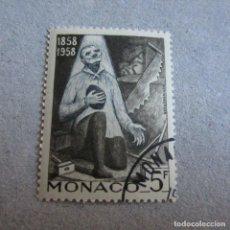 Sellos: MONACO 1958, YVERT Nº 492/502, CENTENARIO DE LAS APARICIONES DE LURDES. Lote 210481746