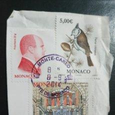 Sellos: SELLOS MONACO. Lote 210664801