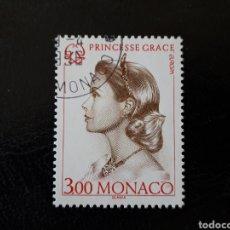 Francobolli: MÓNACO YVERT 2037 SERIE COMPLETA USADA. EUROPA 1996. MUJERES CÉLEBRES. PRINCESA GRACIA DE MÓNACO. Lote 212066952