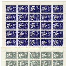 Sellos: TURQUIA. EUROPA 1961. 25 SERIES.. Lote 212079636