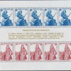Sellos: MONACO 1985 HB IVERT 30 *** EUROPA - AÑO EUROPEO DE LA MÚSICA. Lote 215892690