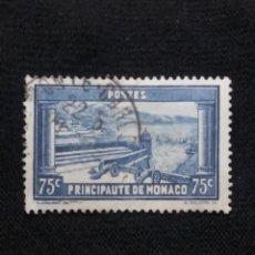 Sellos: MONACO, 75C, CLARET FORTIFICATION, AÑO 1933-9.. Lote 217373802