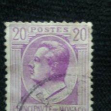 Sellos: MONACO, 20C, LOUIS II, AÑO 1932.. Lote 217376172
