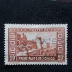 Sellos: MONACO, 20 C, GOULINAT, AÑO 1933.. Lote 217376990