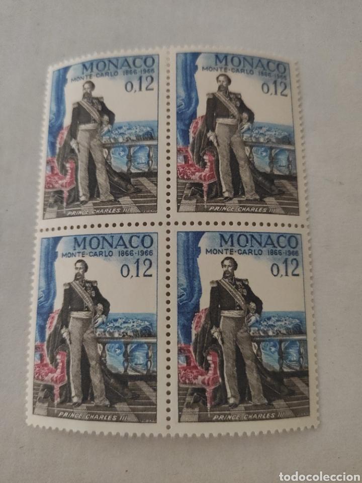 Sellos: Lote sellos MÓNACO año 1966 - Foto 2 - 218230906