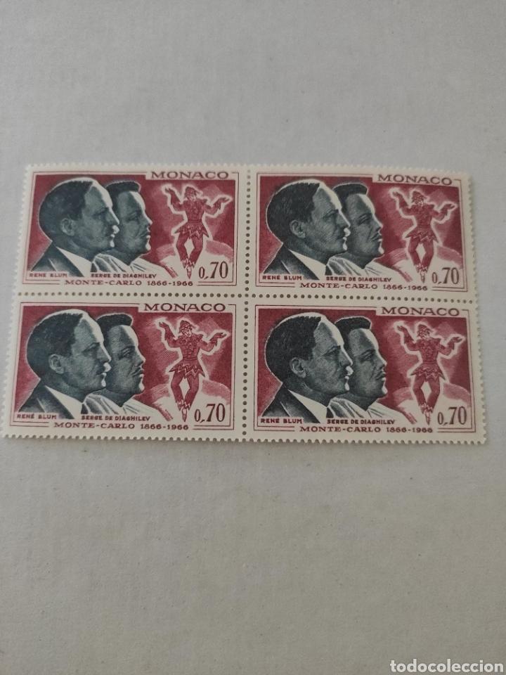 Sellos: Lote sellos MÓNACO año 1966 - Foto 5 - 218230906