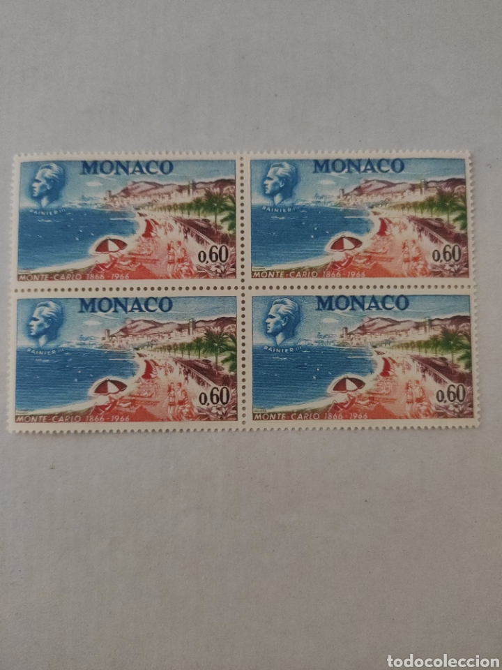 Sellos: Lote sellos MÓNACO año 1966 - Foto 6 - 218230906